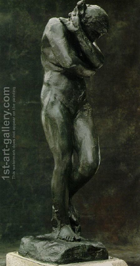 Eve by Auguste Rodin - Reproduction Oil Painting