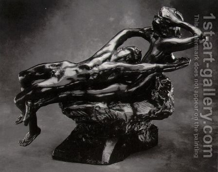 Fugit Amor by Auguste Rodin - Reproduction Oil Painting