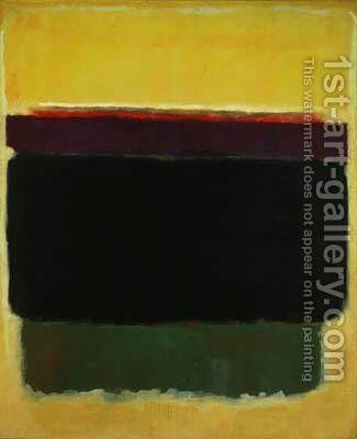Untitled by Mark Rothko (inspired by) - Reproduction Oil Painting