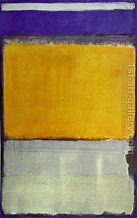 Number 10 by Mark Rothko (inspired by) - Reproduction Oil Painting