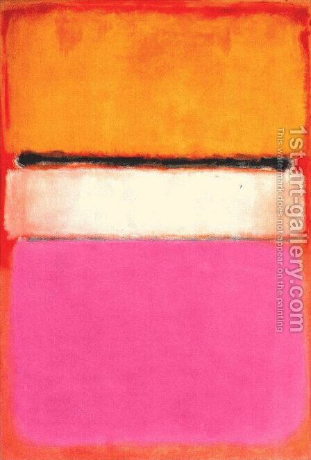 White Center by Mark Rothko (inspired by) - Reproduction Oil Painting