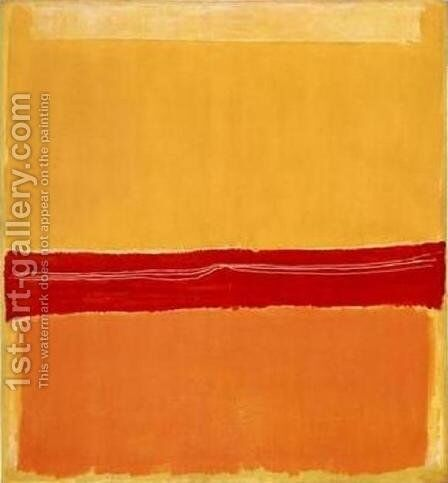 Number 22 by Mark Rothko (inspired by) - Reproduction Oil Painting