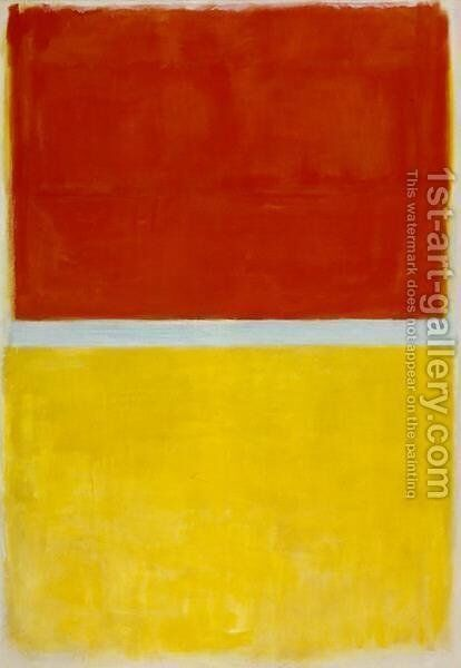 Untitled 5 by Mark Rothko (inspired by) - Reproduction Oil Painting
