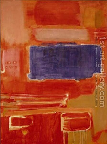 Untitled 7 by Mark Rothko (inspired by) - Reproduction Oil Painting