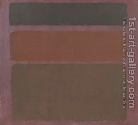 Number 16 by Mark Rothko (inspired by) - Reproduction Oil Painting