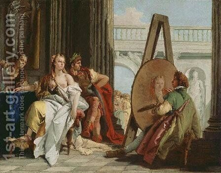Alexander the Great by Giovanni Battista Tiepolo - Reproduction Oil Painting