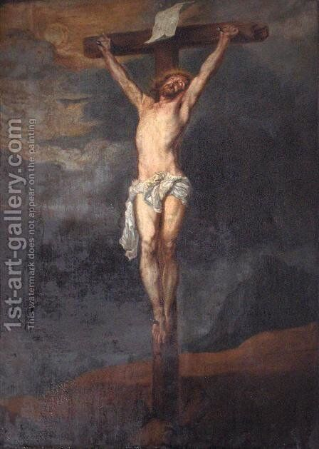 Crucifixion by Sir Anthony Van Dyck - Reproduction Oil Painting
