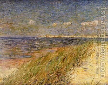 The Dunes of Swin, Knokke by Theo Van Rysselberghe - Reproduction Oil Painting