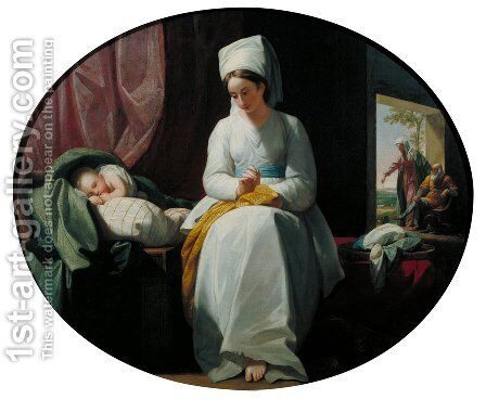 The Golden Age by Benjamin West - Reproduction Oil Painting