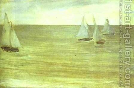 Trouville by James Abbott McNeill Whistler - Reproduction Oil Painting