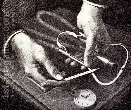 Family Doctor by Grant Wood - Reproduction Oil Painting