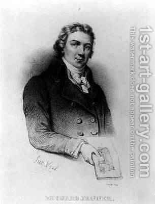 Portrait of Edward Jenner 1749-1823lithography by de Frey by (after) Noel, Alphonse Leon - Reproduction Oil Painting