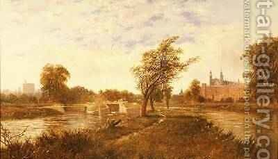 Eton from the Thames by Edward H. Niemann - Reproduction Oil Painting