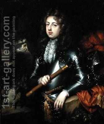 Portrait of a General by Constantin Netscher - Reproduction Oil Painting