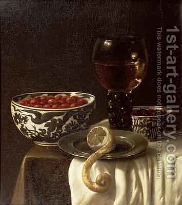 A Still Life by Marten Nellius - Reproduction Oil Painting