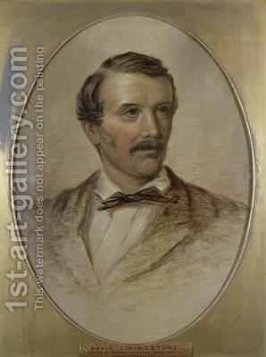 Portrait of David Livingstone 1813-73 by Charles Need - Reproduction Oil Painting