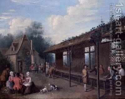 Shovehapenny by Balthasar Nebot - Reproduction Oil Painting