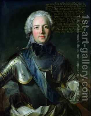 JosephMarie 1706-47 Duc de Boufflers by Jean-Marc Nattier - Reproduction Oil Painting