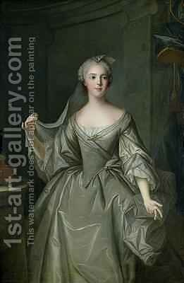 Madame Sophie de France 1734-82 as a Vestal Virgin by Jean-Marc Nattier - Reproduction Oil Painting