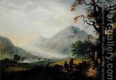 The Grampians by Alexander Nasmyth - Reproduction Oil Painting
