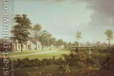 Annefield with Glasgow beyond by Alexander Nasmyth - Reproduction Oil Painting