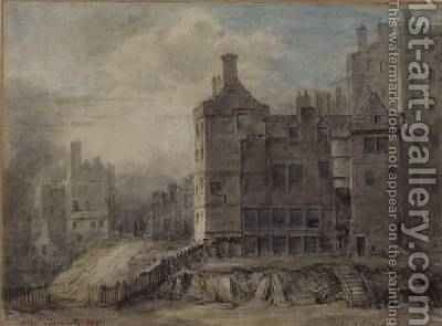 Duke of Argyll House Edinburgh by Alexander Nasmyth - Reproduction Oil Painting