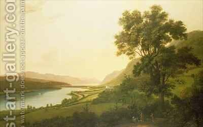 View of Loch Ness by Alexander Nasmyth - Reproduction Oil Painting