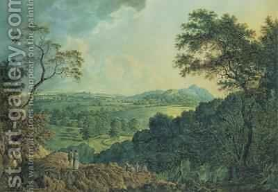 View of Edinburgh from Corstorphine Hill by Alexander Nasmyth - Reproduction Oil Painting