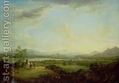 A View of the Town of Stirling on the River Forth by Alexander Nasmyth - Reproduction Oil Painting