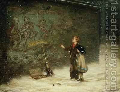 Remembering Joys that have Passed Away 1873 by Augustus Edward Mulready - Reproduction Oil Painting