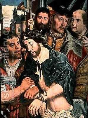 Ecce Homo 1520 2 by Jan Mostaert - Reproduction Oil Painting