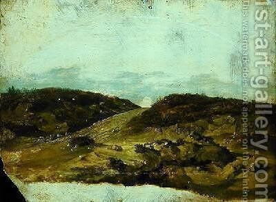 Heath Track by Christian Morgenstern - Reproduction Oil Painting