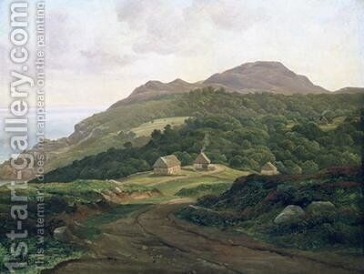 On the Swedish Coast 1828 by Carl Morgenstern - Reproduction Oil Painting