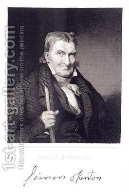 Simon Kenton 1755-1836 by (after) Morgan, Louis W. - Reproduction Oil Painting