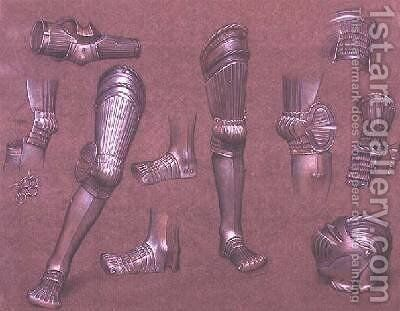 Study of Armour No1 by Evelyn Pickering De Morgan - Reproduction Oil Painting