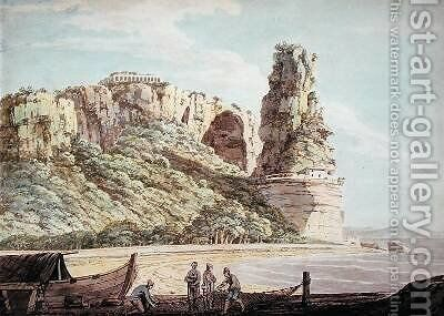 A View at Terracina 1778 by Jacob More - Reproduction Oil Painting