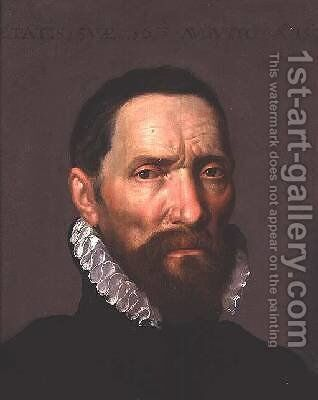 Portrait of a Man 1574 by Anthonis Mor Van Dashorst - Reproduction Oil Painting