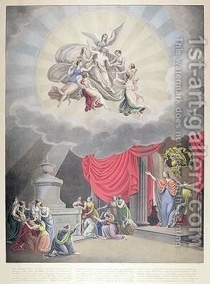 The Apotheosis of Washington by (after) Moore, Samuel - Reproduction Oil Painting