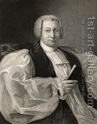 James Henry Monk engraved by G Parker from The National Portrait Gallery by (after) Moore, Joseph - Reproduction Oil Painting