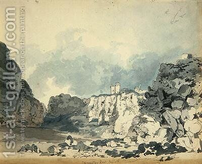 Dunnotter Castle by James Moore - Reproduction Oil Painting
