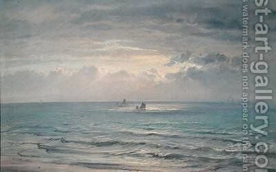 Evening Light 1872 by Henry Moore - Reproduction Oil Painting