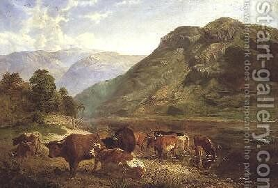 Gowbarrow Park Ullswater by Henry Moore - Reproduction Oil Painting