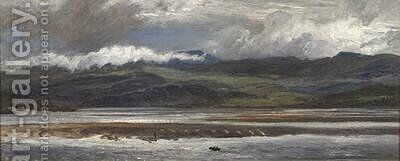 After Rain 1872 by Henry Moore - Reproduction Oil Painting