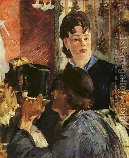 Manet by Edouard Manet - Reproduction Oil Painting