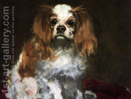 the dog by Edouard Manet - Reproduction Oil Painting