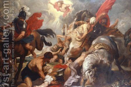 The Conversion of St. Paul, Rubens by Rubens - Reproduction Oil Painting