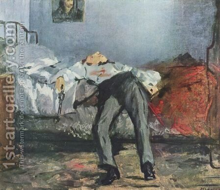 Suicide by Edouard Manet - Reproduction Oil Painting