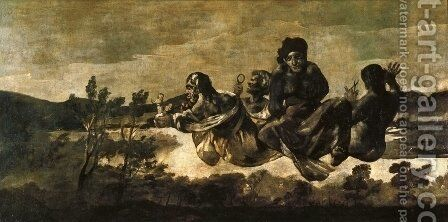 Atropos (The Fates) by Goya - Reproduction Oil Painting