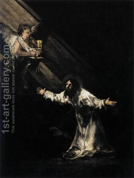 Christ on the Mount of Olives by Goya - Reproduction Oil Painting