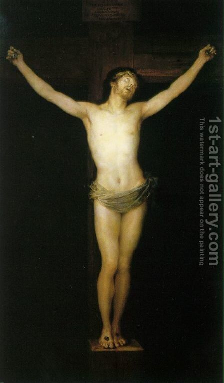 Crucified Christ by Goya - Reproduction Oil Painting